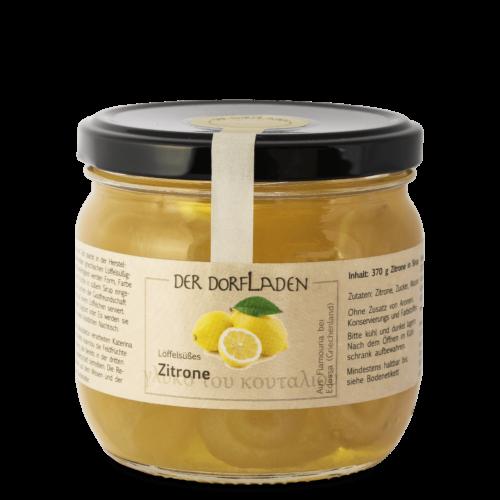 DER DORFLADEN Löffelsüßes Zitrone