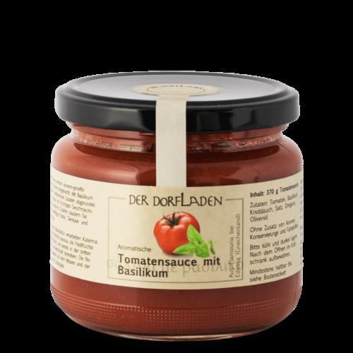 DER DORFLADEN Tomatensauce mit Basilikum