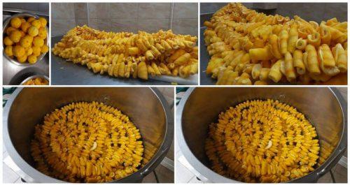 Herstellung Löffelsüßes bei ToKtima