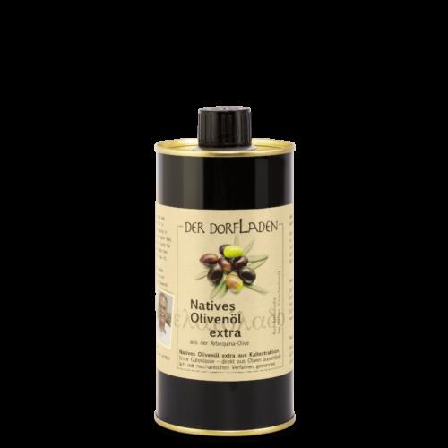 DER DORFLADEN Olivenöl extra-nativ aus der Arbequina-Olive