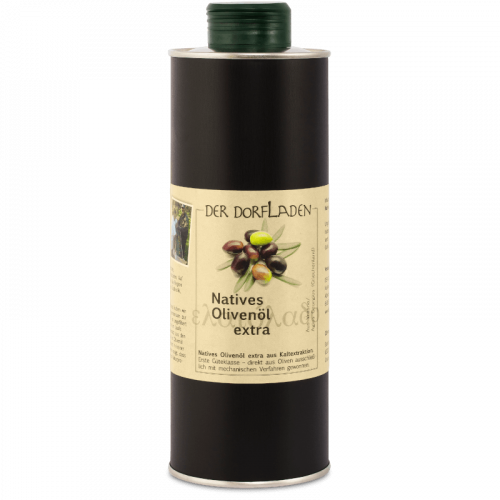 DER DORFLADEN Olivenöl extra-nativ aus eigener Ernte