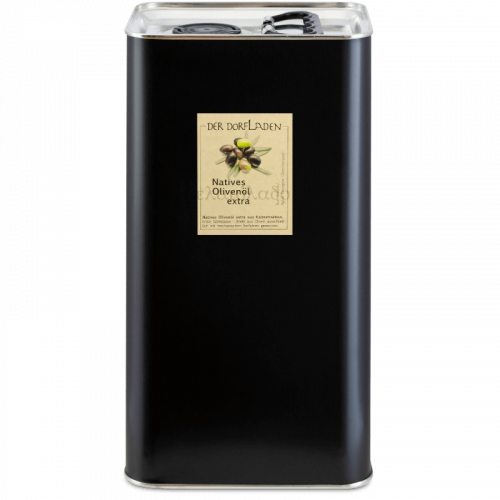DER DORFLADEN Olivenöl extra-nativ aus der Koroneiki-Olive im 5l Kanister