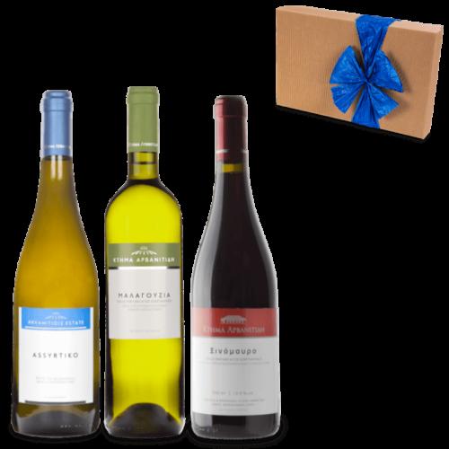 DER DORFLADEN - Geschenkset kleine griechische Weinreise