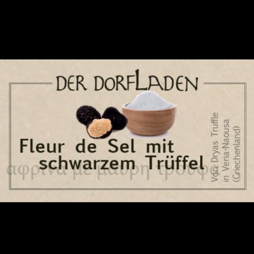 DER DORFLADEN - Fleur de Sel mit schwarzem Trüffel