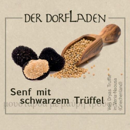 DER DORFLADEN - Senf mit schwarzem Trüffel