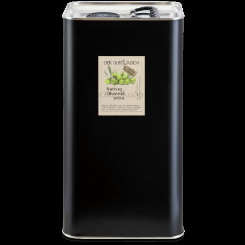 """DER DORFLADEN Olivenöl extra-nativ aus früher Ernte """"Agourélaio"""" im 5l Kanister"""