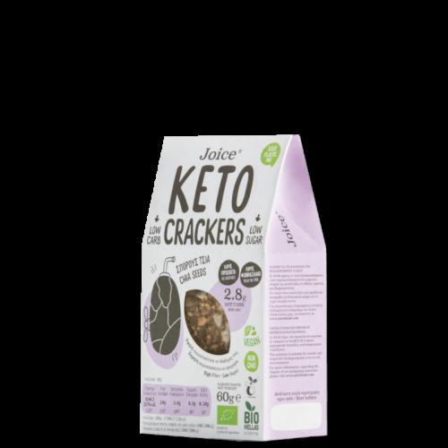 DER DORFLADEN - Keto-Cracker mit Chia