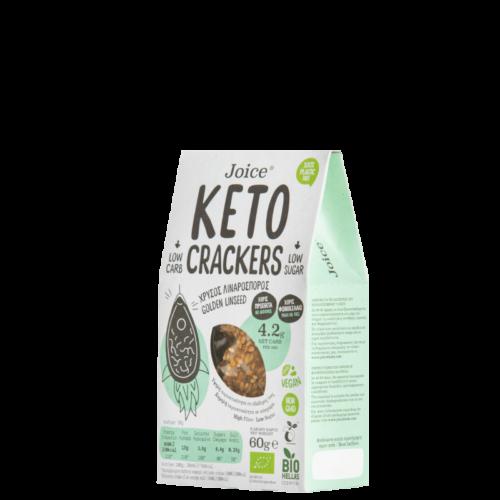 DER DORFLADEN - Keto-Cracker mit foldenem Leinsamen